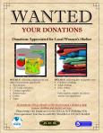 20140601 ACS Women's Shelter Collections